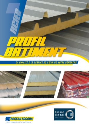 Catalogue Profil Bâtiment Clisson Métal