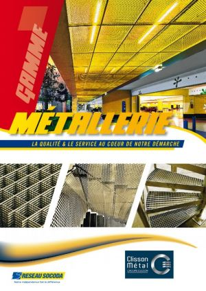 Catalogue Clisson Métal Métallerie